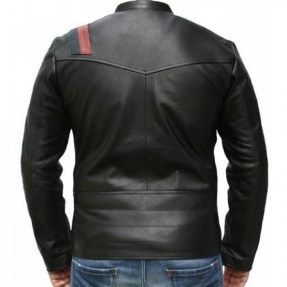 Leather Skin Men Black Handmade Gen..